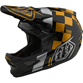 Troy Lee Designs D3 Fiberlite Helm raceshop black/gold